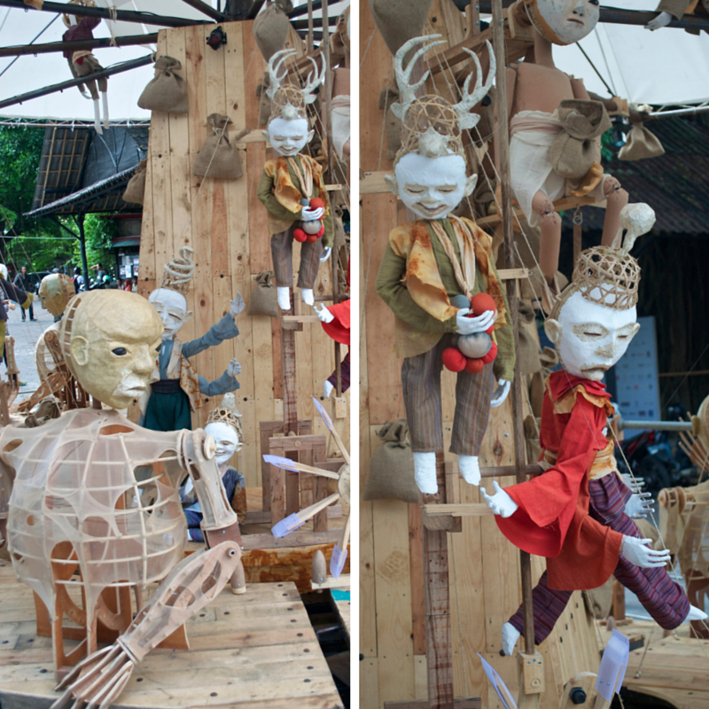 ART JOG 2013 Puppet Theatre Pic Collage