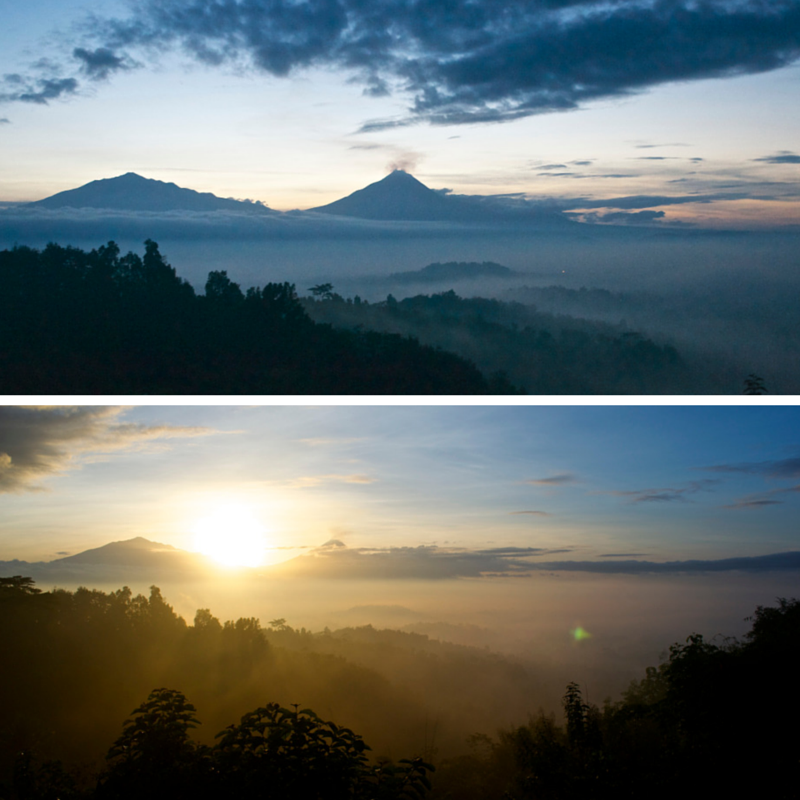 Borobudur Sunrise Pic Collage1