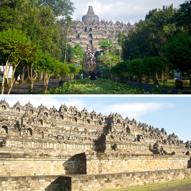 Borobudur Temple Pic Collage1