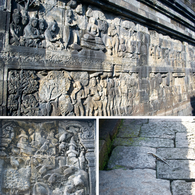 Borobudur Temple Pic Collage2