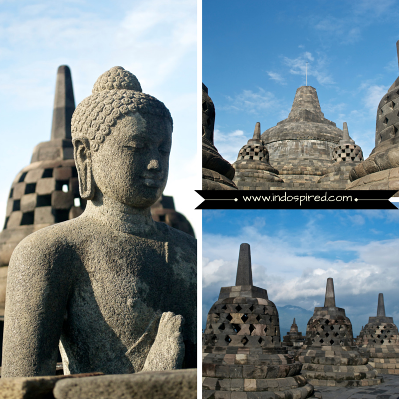 Borobudur Temple Pic Collage4