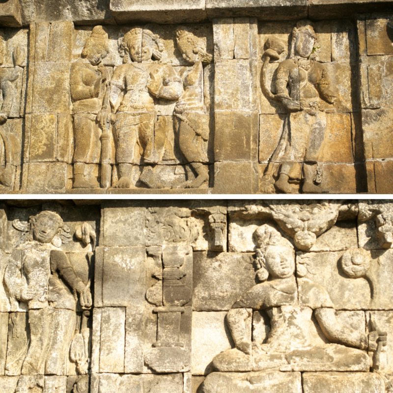 Borobudur temple Pic Collage3