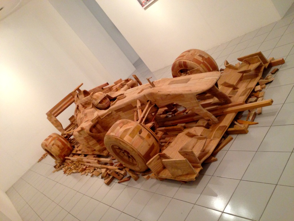 Ichwan Noor - Ply Wood Installation 2014 | Wood