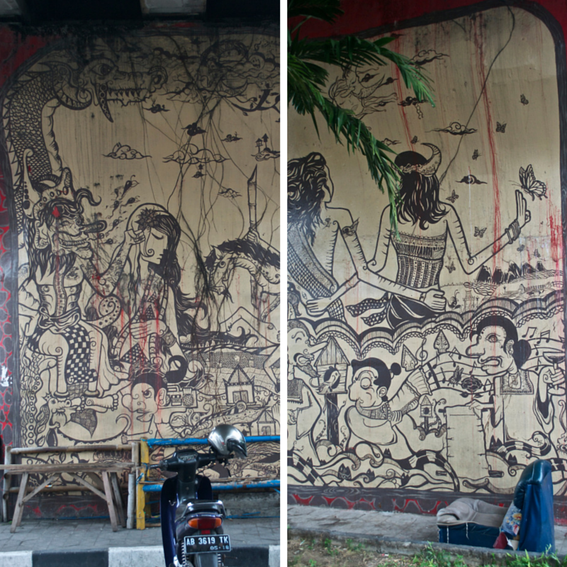 Yogya Street Art Pic Collage1