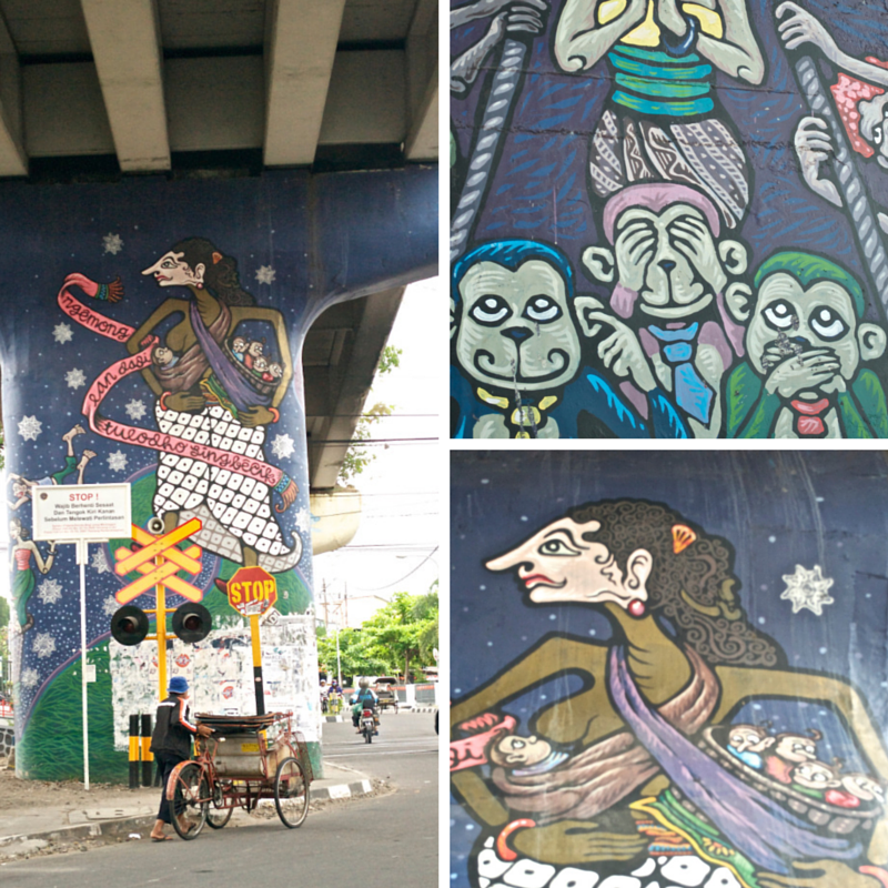Yogya Street Art Pic Collage3