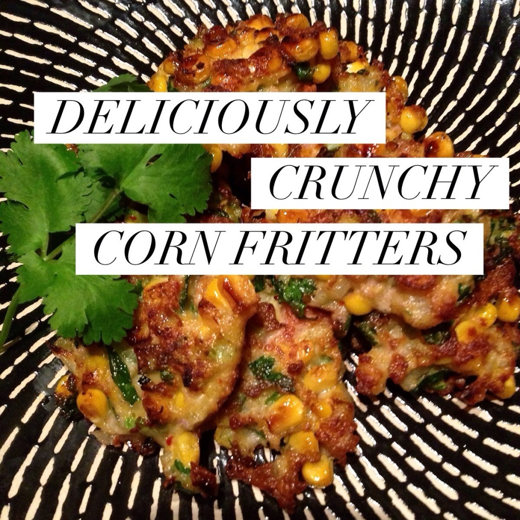 Corn Fritters Title Pic