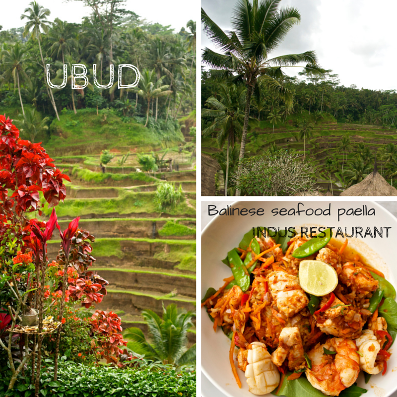 July Journey Ubud Pic Collage