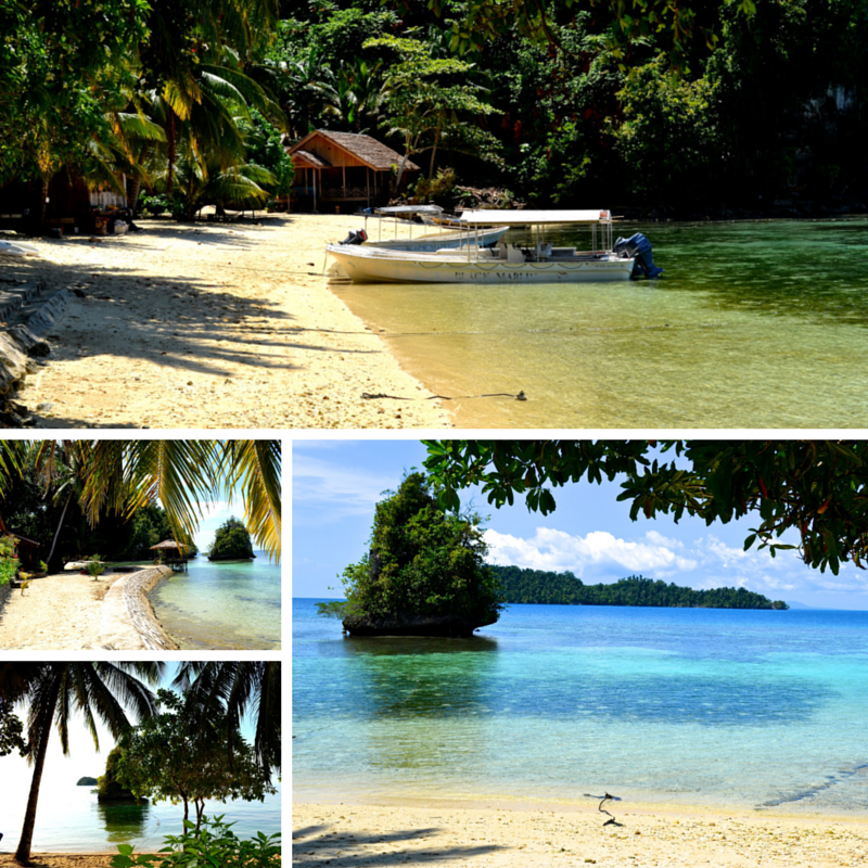 Kadadiri Island Beach Pic Collage