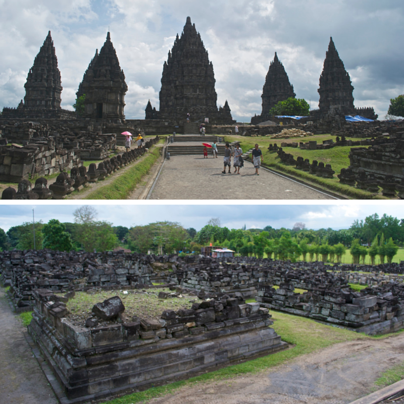 Prambanan Temple Pic Collage4