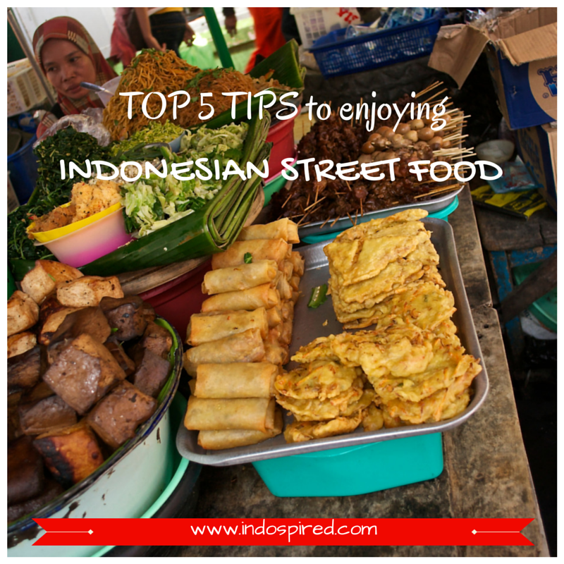 TOP 5 TIPS to enjoying Indonesian Street Food Title Pic