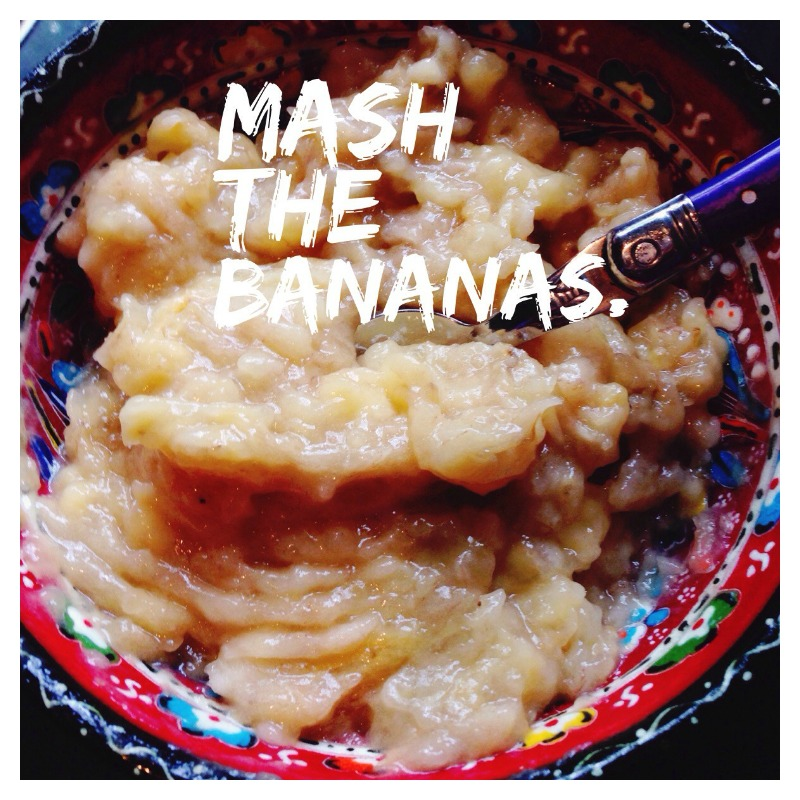 Pisang Goreng Mash the Bananas