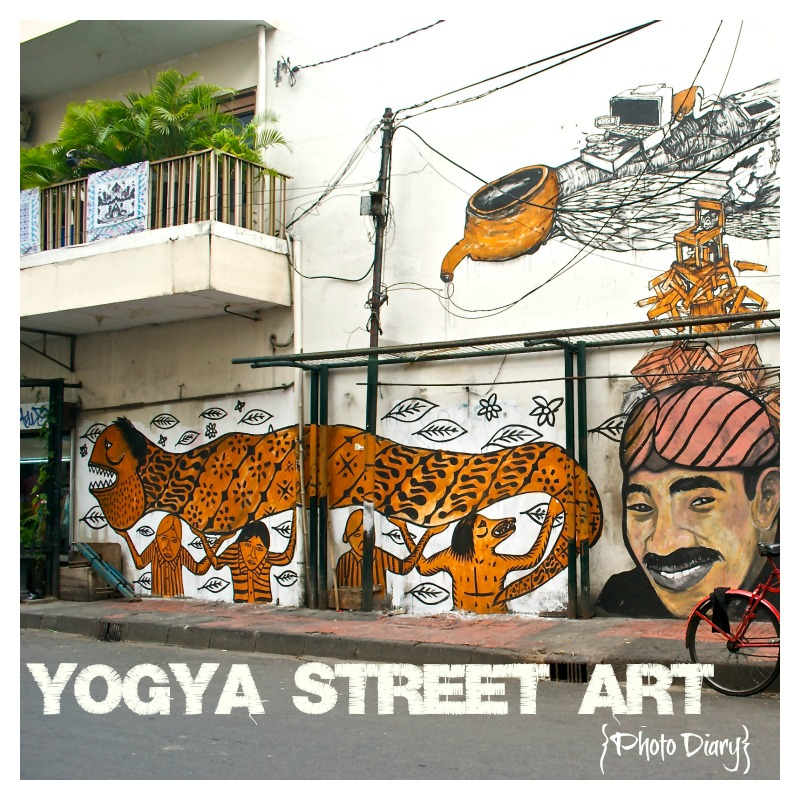 Yogya Street Art Photo Diary Title Pic