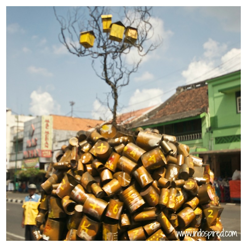 Yogya street art PD2 Tree of Cans