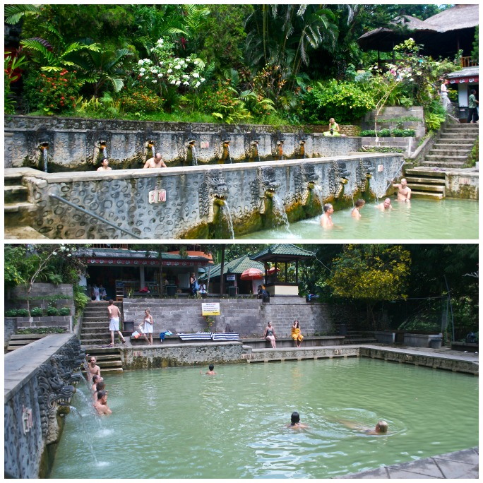 Banjar Hot Springs Collage