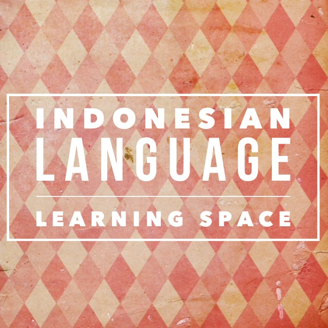 Indonesian Language Learning Space Title Pic