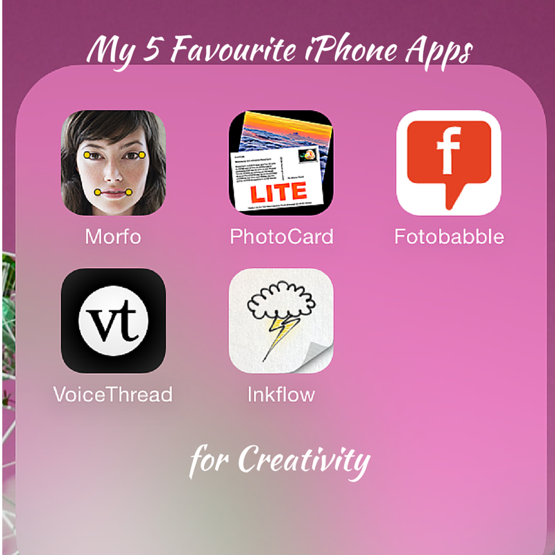My 5 favourite iPhone Apps for Creativity Title Pic-2