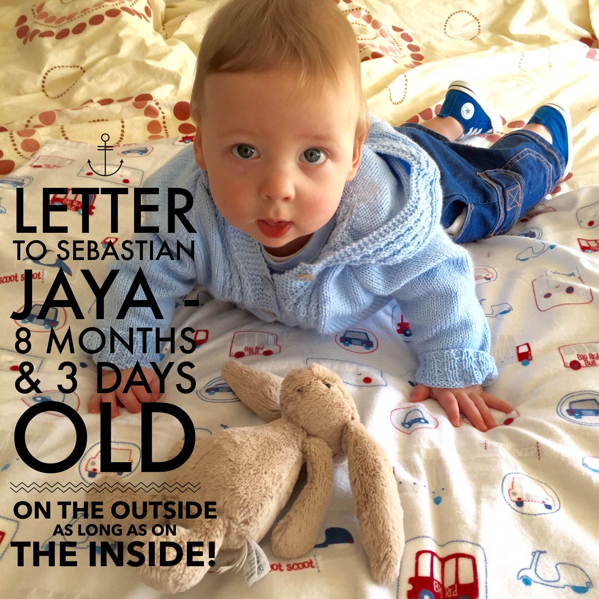 Letter to SJ 8 months old Title pic